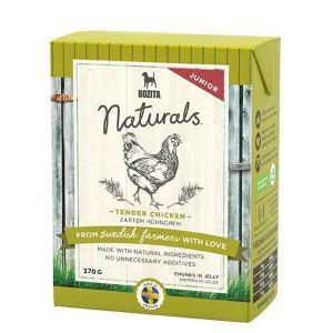 Bozita Naturals кусочки в желе для щенков и юниоров с курицей 370 г