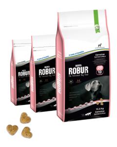 Bozita Robur 20/10 сухой корм с лососем и рисом для собак 12,5 кг