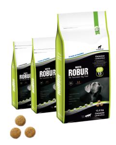 Bozita Robur 23/13 сухой корм с ягненком для собак 12,5 кг