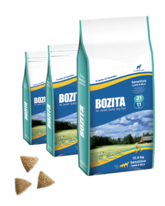 Bozita Sensitive 21/11 сухой корм с ягненком и рисом для собак 12,5 кг