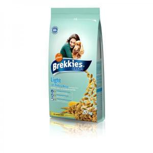 Brekkies Excel Light сухой корм для собак, склонных к полноте, 20 кг