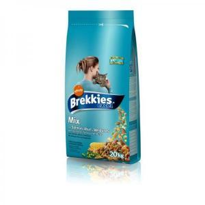 Brekkies excel Mix Fish сухой корм для кошек с рыбой 20 кг