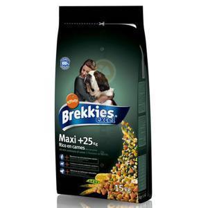 Brekkies Excell Dog Maxi сухой корм с курицей для собак крупных пород 15 кг