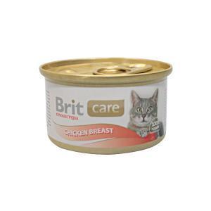 Brit Care Chicken Breast консервы для кошек с куриной грудкой 80 г
