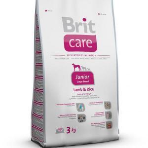 Brit Care Junior Large Breed Lamb & Rice сухой корм для щенков крупных пород ягненок с рисом 12 кг