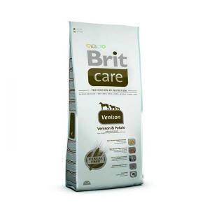 Brit Care Venison - Venison & Potato сухой беззерновой корм для чувствительных собак 12 кг