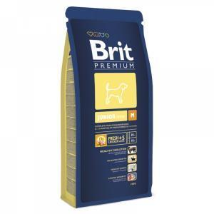 Brit Premium Junior М сухой корм для щенков средних пород