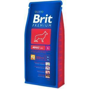 Brit Premium Senior L сухой корм для стареющих собак крупных пород 15 кг