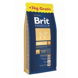 Brit Premium Senior M сухой корм для стареющих собак средних пород 15 кг