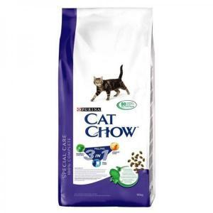 Cat Chow Special Care 3 in 1 сухой корм для кошек тройного действия 15 кг