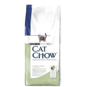 Cat Chow Special Care After Care сухой корм для кастрированных и стерилизованных кошек 15 кг