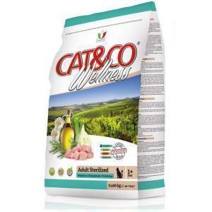 Cat&Co Wellness Adult Sterilized Pollo & Orzo сухой корм для стерилизованных кошек с цыпленком и ячменем