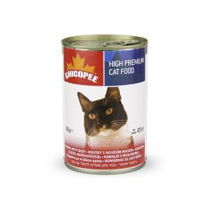 Chicopee Cat Chunks Beef Консервы для кошек Говядина в соусе