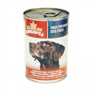 Chicopee влажный корм для собак мясные кусочки в соусе 400 г