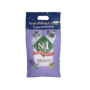Crystals №1 Lavender наполнитель для кошачьего туалета силикагелевый 5 л