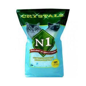 Crystals №1 наполнитель для кошачьего туалета силикагелевый