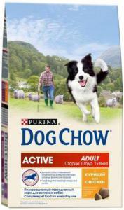 Dog Chow Active сухой корм для активных собак 15 кг