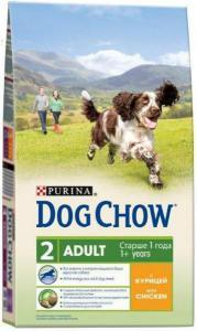 Dog Chow Adult сухой корм для собак Курица с рисом 14 кг