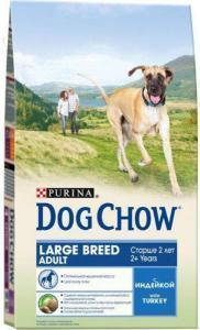 Dog Chow Large Breed сухой корм для собак Крупных пород 15 кг