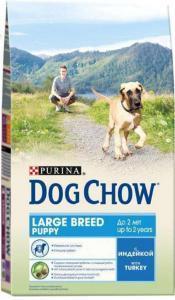 Dog Chow Puppy Large Breed сухой корм для щенков крупных пород 14 кг