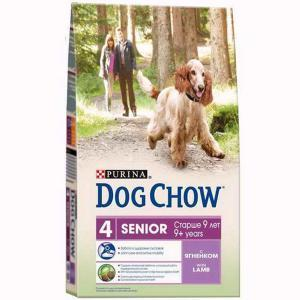 Dog Chow Senor Lamb & Rice сухой корм для пожилых собак с ягненком и рисом 14 кг