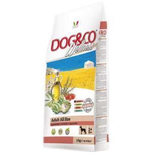 Dog&Co Wellness Adult Agnello & Riso сухой корм для собак с ягненком и рисом