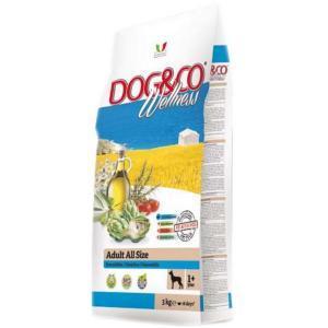 Dog&Co Wellness Adult Pesce & Riso сухой корм для собак с рыбой и рисом.