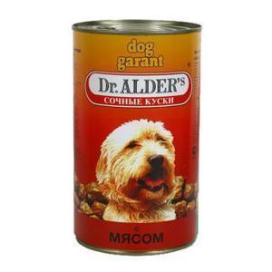 Dr. Alders Гарант консервы для собак с говядиной 1230 г