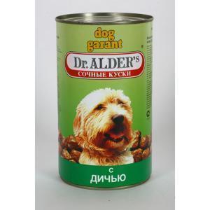 Dr. Alders Гарант консервы для собак с рубцом и сердцем 1230 г