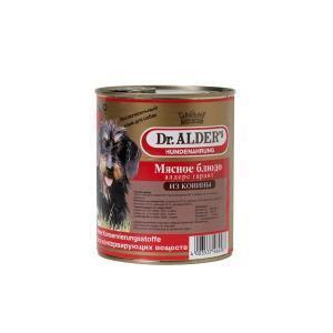 Dr. Alders Гарант консервы-паштет для собак с кониной