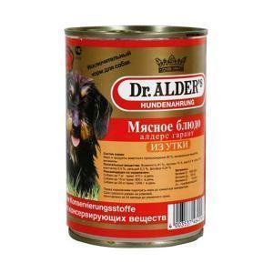 Dr. Alders Гарант консервы-паштет для собак с уткой