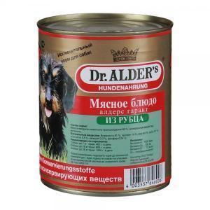 Dr. Alders консервы-паштет для собак с рубцом