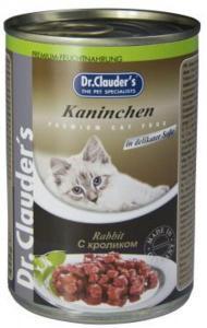 Dr. Clauder`s консервы для кошек с кроликом 415г*20шт