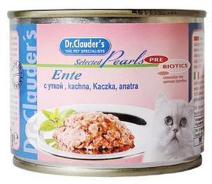 Dr. Clauder`s консервы для кошек с уткой 200г*12шт