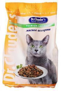 Dr. Clauder`s сухой корм для кошек мясное ассорти 15 кг