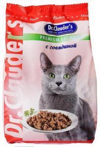 Dr. Clauder`s сухой корм для кошек с говядиной 15 кг
