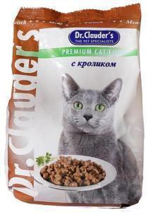 Dr. Clauder`s сухой корм для кошек с кроликом 15 кг