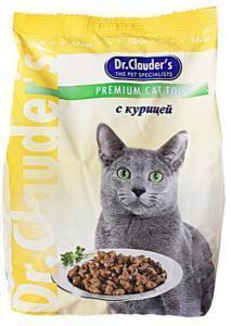 Dr. Clauder`s сухой корм для кошек с курицей 15 кг