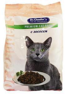 Dr. Clauder`s сухой корм для кошек с лососем 15 кг