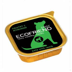 Ecofriend консервы для собак паштет с Ягненком 150г*11шт