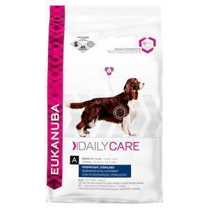 EUKANUBA Daily Care Overweight, Sterilized сухой корм для кастрированных, стерилизованных, склонных к полноте собак 12,5 кг