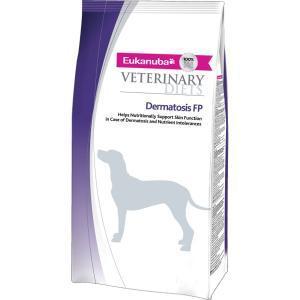Eukanuba Dermatosis FP сухой корм для собак при воспалениях кожи 12 кг