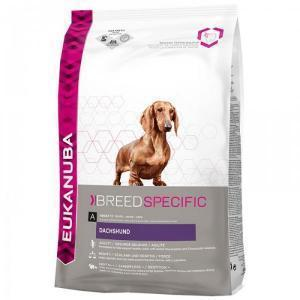 EUKANUBA Dog Breed Nutrition Dachshund сухой корм для собак породы такса 7,5 кг