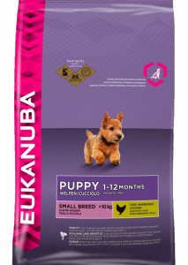 Eukanuba Puppy Small Breed сухой корм для щенков мелких пород 7,5 кг