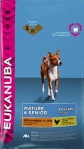 Eukanuba Mature & Senior Medium Breed сухой корм для пожилых собак средних пород 15 кг