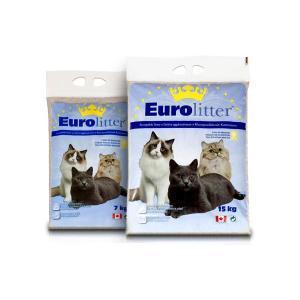 """Eurolitter комкующийся наполнитель """"Контроль запаха"""" без пыли, Dust Free"""