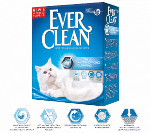 Ever Clean Extra Strong Clumping наполнитель для кошачьего туалета без аромата
