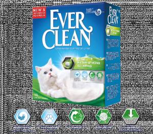 Ever Clean Extra Strong наполнитель для кошачьего туалета с ароматом свежести