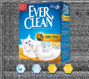 Ever Clean Less Trail наполнитель кошачьего туалета для длинношерстных кошек и котят