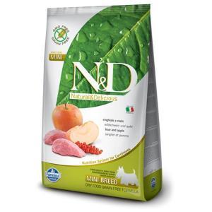 Farmina N&D GF Adult Mini беззерновой сухой корм с мясом кабана и яблоком для собак маленьких пород 2,5 кг